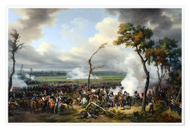 Poster Battle of Hanau, 1813