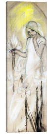 Tableau sur toile  Study for Lily - Alfons Mucha