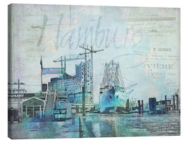 Tableau sur toile  Hambourg - Andrea Haase