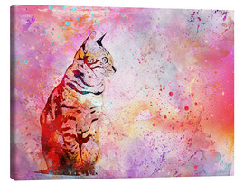 Toile  Cat - Andrea Haase