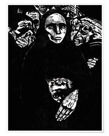 Poster  The people (the war) - Käthe Kollwitz