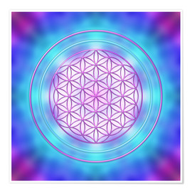 Poster Flower of Life - Intuition