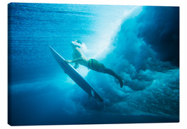 Toile  Surf surfacing - MakenaStockMedia