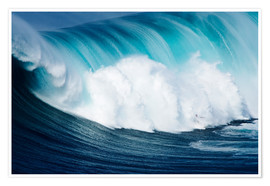 Poster  Surfs au large de Maui - Ron Dahlquist