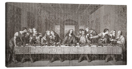 Tableau sur toile  The Last Supper After Leonardo Da Vinci - Ken Welsh
