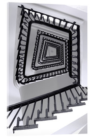 Verre acrylique  STAIRCASE I - Sabine Wagner