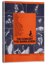 Toile  THE CONCERT FOR BANGLADESH