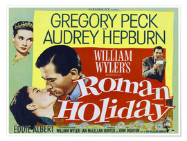 Poster  ROMAN HOLIDAY