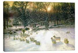 Tableau sur toile  The Shortening Winter's Day is Near a Close - Joseph Farquharson