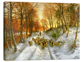 Tableau sur toile  Glowed with Tints of Evening Hours - Joseph Farquharson