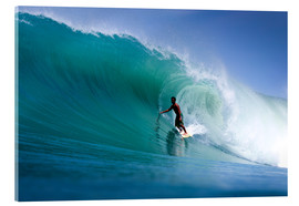 Verre acrylique  Surfing the dream wave - Paul Kennedy