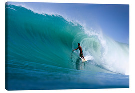 Toile  Surfing the dream wave - Paul Kennedy