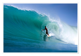 Poster  Surfing the dream wave - Paul Kennedy
