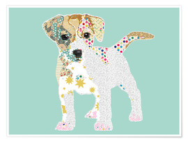 Poster Collage Jack Russel