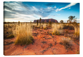 Toile  Red Desert at Ayers Rock - Matteo Colombo