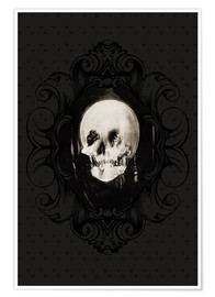 Poster All is vanity (Baroque Frame)