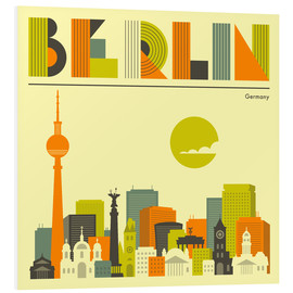 Forex  Berlin Skyline - Jazzberry Blue