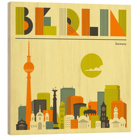 Bois  Berlin Skyline - Jazzberry Blue