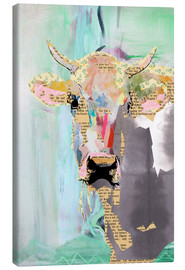 Toile  Collage vache - GreenNest