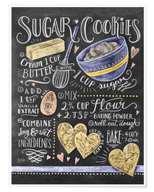 Poster  Sugar cookies recipe - Lily & Val