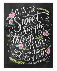 Poster The Sweet Simple Things