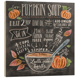 Bois  Pumpkin soup recipe - Lily & Val