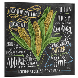 Verre acrylique  Corn on the cob - Lily & Val