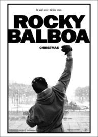 Tableau en verre acrylique  Rocky Balboa (anglais) - Entertainment Collection
