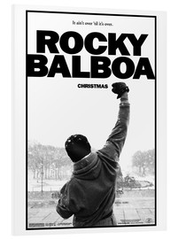 Tableau en PVC  Rocky Balboa (anglais) - Entertainment Collection