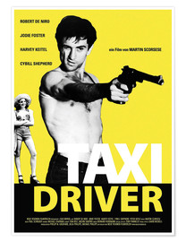 Poster Taxi Driver (allemand)