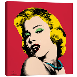 Toile  Marilyn Monroe - Mark Ashkenazi