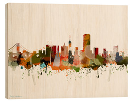 Tableau en bois  San Francisco, California - Mark Ashkenazi
