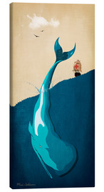 Tableau sur toile  Moby Dick I - Mark Ashkenazi