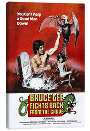 Tableau sur toile  Bruce Lee Fights Back from the Grave (anglais) - Entertainment Collection