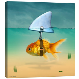 Toile  gold fish - Mark Ashkenazi