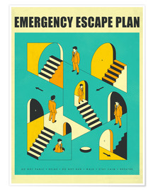 Poster Emergency Escape Plan 1