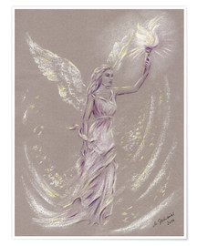 Marita Zacharias - Angel of Hope - Angel Art