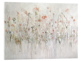 Verre acrylique  little flower - Christin Lamade