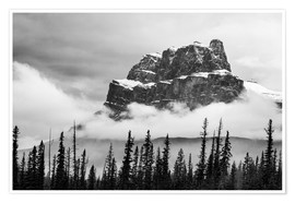 Poster  Castle Mountain - Andreas Kossmann