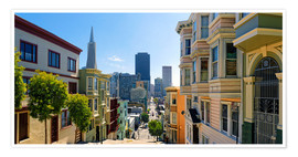 Poster  Streets of San Francisco - Michael Rucker