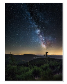Andreas Wonisch - Milky Way over Black Forest