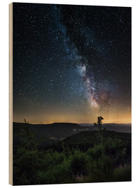 Bois  Milky Way over Black Forest - Andreas Wonisch