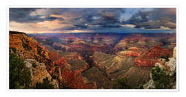 Poster  Grand Canyon View - Michael Rucker