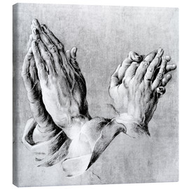 Toile  Hands of the Pope and an apostle - Albrecht Dürer