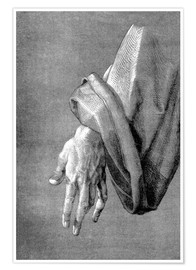 Poster Left hand of an apostle