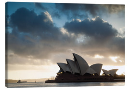 Tableau sur toile  Famous Sydney Opera House at sunrise, Australia - Matteo Colombo