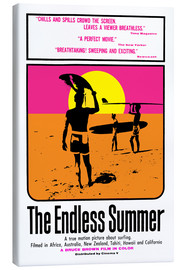 Tableau sur toile  The Endless Summer (anglais) - Entertainment Collection