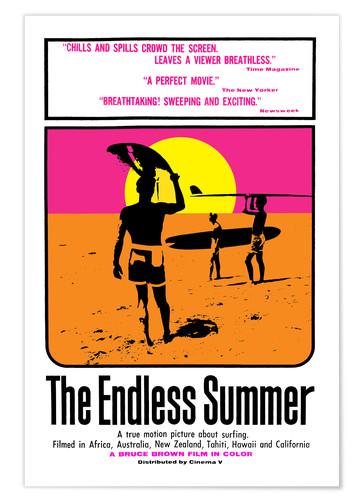Poster The Endless Summer (anglais)