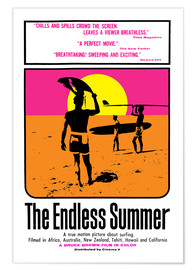 Poster  The Endless Summer (anglais) - Entertainment Collection