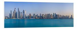 Tableau en PVC  Dubai Marina Skyline - United Arab Emirates - Achim Thomae